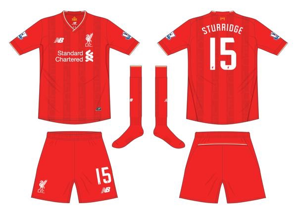 New LFC strip 15/16 Season