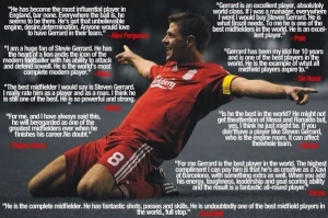 Without a doubt Gerrard was 1 of the best players in the world